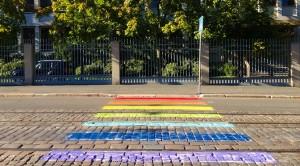 Example of rainbow crossing