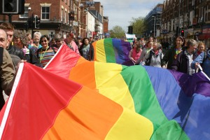Exeter Pride parade 2014 photo by Alan Quick