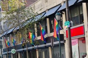 Philadelphia Rainbow Flags