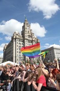 Liverpool Pride at Pier Head 2 -Credit David Munn - Copy