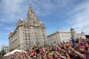 Liverpool Pride at Pier Head - Credit David Munn