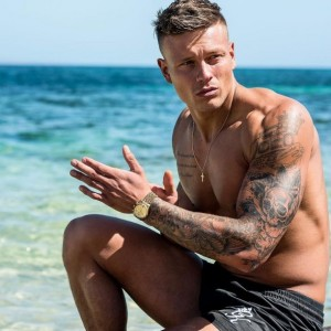 Love Island's Alex Bowen from his Instagram account